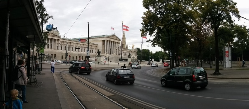 Beautiful Vienna panorama pictures