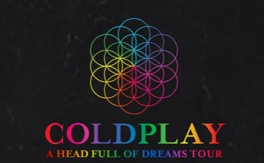 Coldplay concert in Vienna