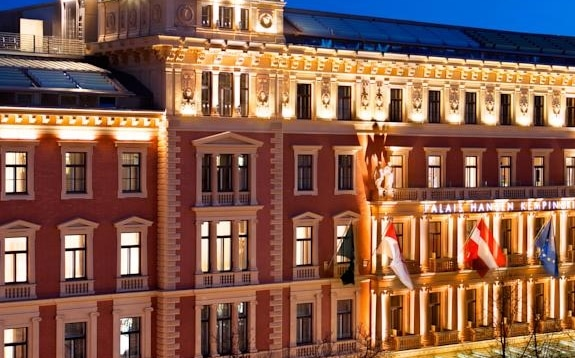 Which is the best five star hotel in Vienna?